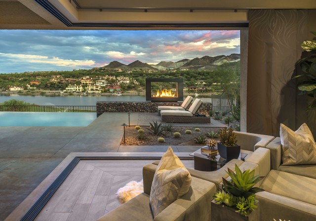Lago Vista Lake Las Vegas Modern Homes
