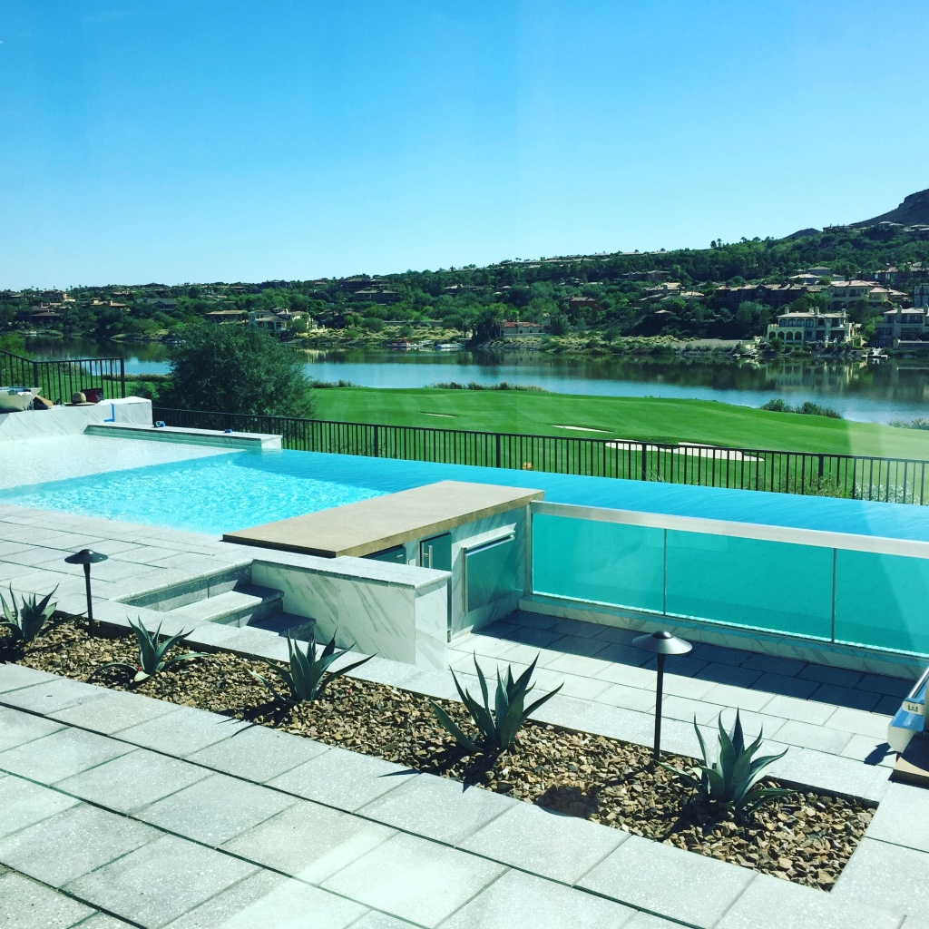 Brand New Modern Homes for Sale in Lake Las Vegas - Right On The Water.